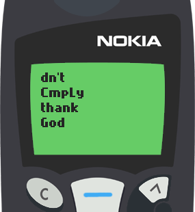 Nokia 5110 Text Message 12: Be a blessing to someone