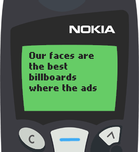 Text Message 47: Ads of life in Nokia 5110