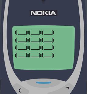 Text Message 2885: One dozen tikoy in Nokia 3310