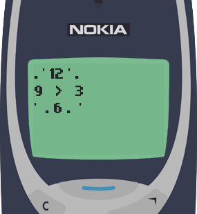 Nokia 3310 Text Message 8844: Time will always fly